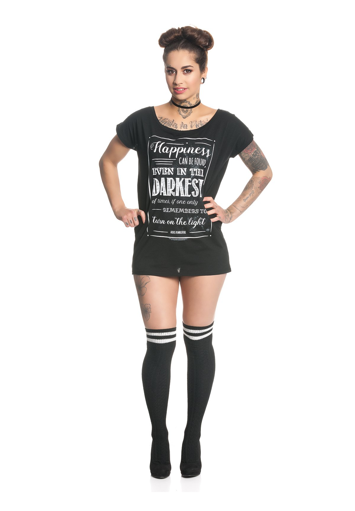 Damen HARRY POTTER HAPPINESS CAN BE FOUND  - T-Shirt print
