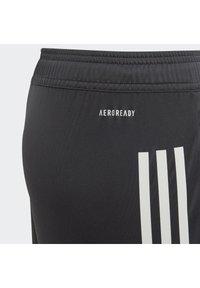 adidas Performance - DEUTSCHLAND DFB TRAINING SHORTS - Sportovní kraťasy - carbon - 3