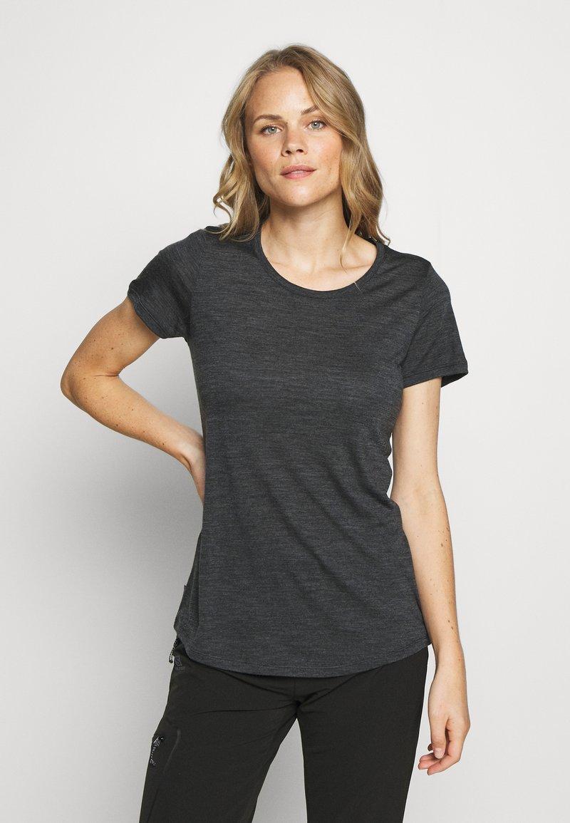 Icebreaker - SPHERE LOW - Basic T-shirt - black