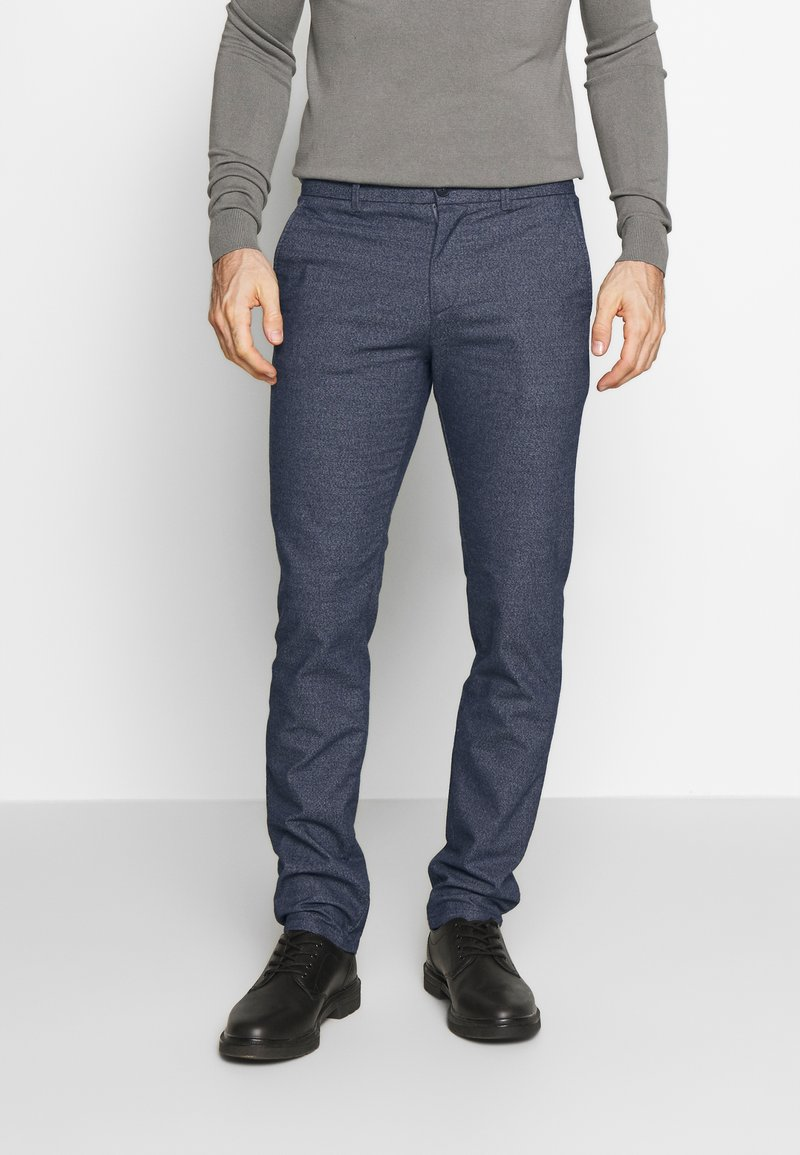 Selected Homme - SLHSLIM ARVAL PANTS - Trousers - dark sapphire