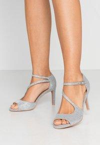 Anna Field - Sandaler med høye hæler - silver - 0