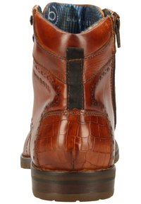 Bugatti - LUSSORIO - Lace-up ankle boots - cognac - 3