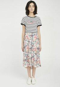 NAF NAF - A-line skirt - white - 1
