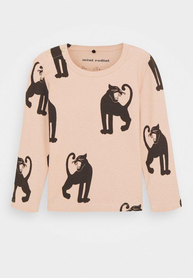 BABY PANTHER TEE - Camiseta de manga larga - pink
