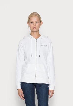 FELPA - Zip-up sweatshirt - white