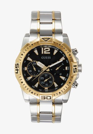 Chronograph watch - silver-coloured/gold-coloured/black