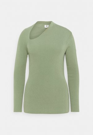 Long sleeved top - sage