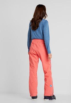 RELEASE - Snow pants - grapefruit pink