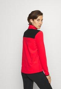 The North Face - GLACIER SNAP NECK - Fleece jumper - horizon red/black - 2