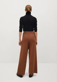 Mango - SOL - Trousers - marron moyen - 2