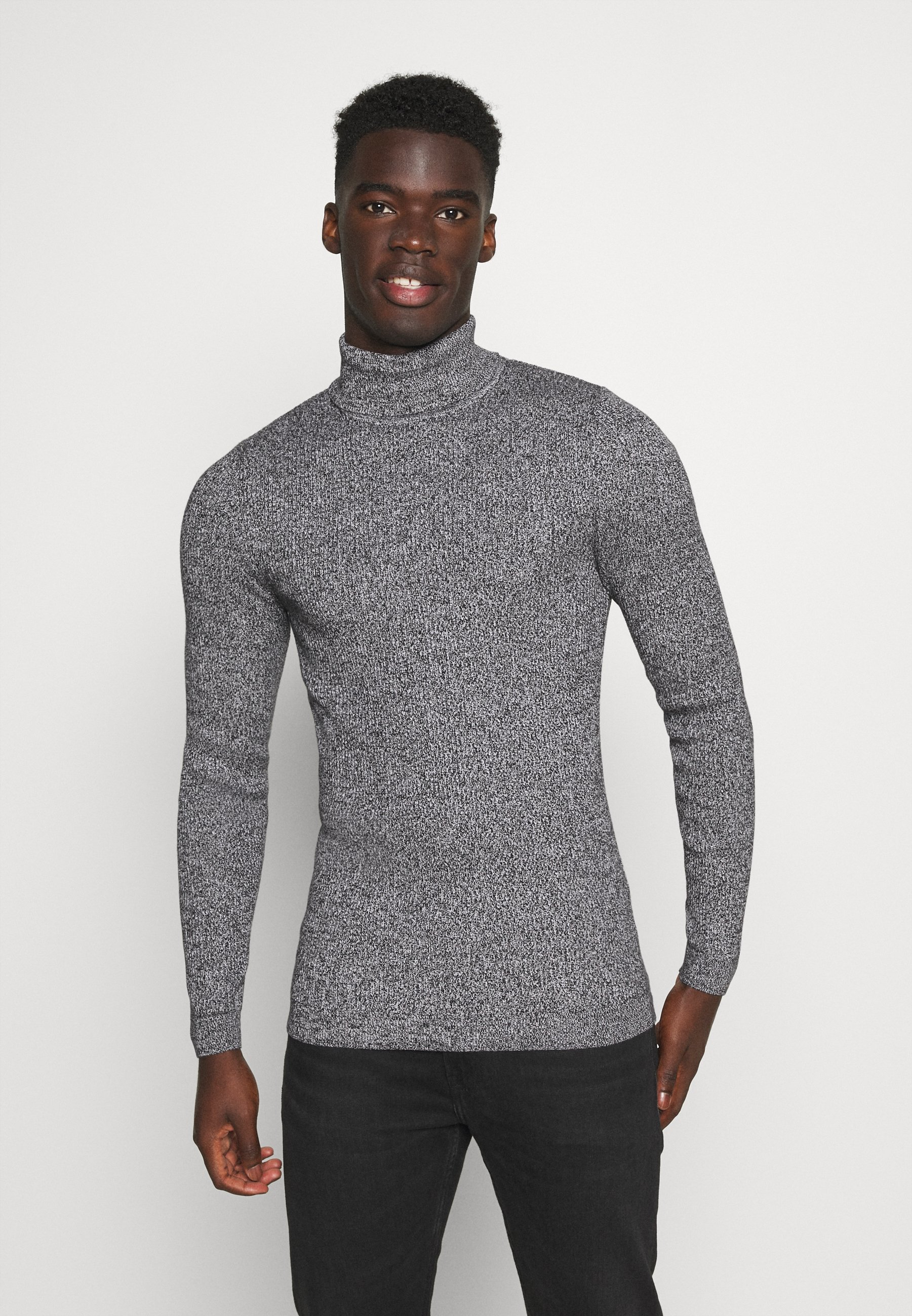 Homme MUSCLE FIT TURTLE - Pullover