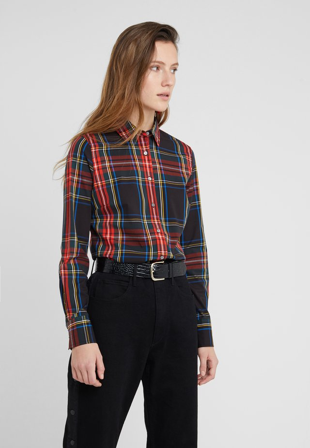 PERFECT IN STEWART PLAID SLIM FIT - Button-down blouse - red/green/multi