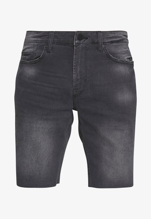 ONSPLY REG RAW  - Denim shorts - grey denim