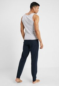 Schiesser - BASIC - Pyjama bottoms - dark blue - 2