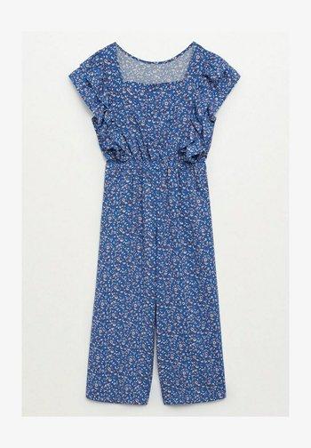 LEILA - Jumpsuit - bleu