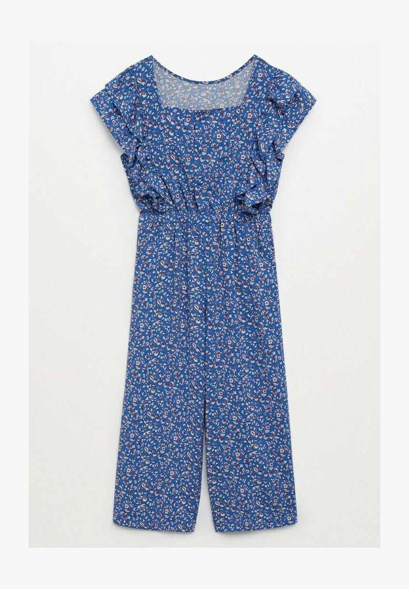 Mango - LEILA - Jumpsuit - bleu