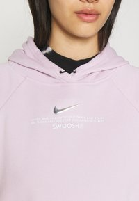 Nike Sportswear - HOODIE - Sweatshirt - iced lilac/white - 4