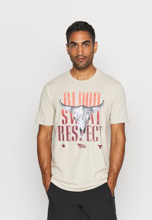 ROCK OUTLAW - T-shirt con stampa - offwhite