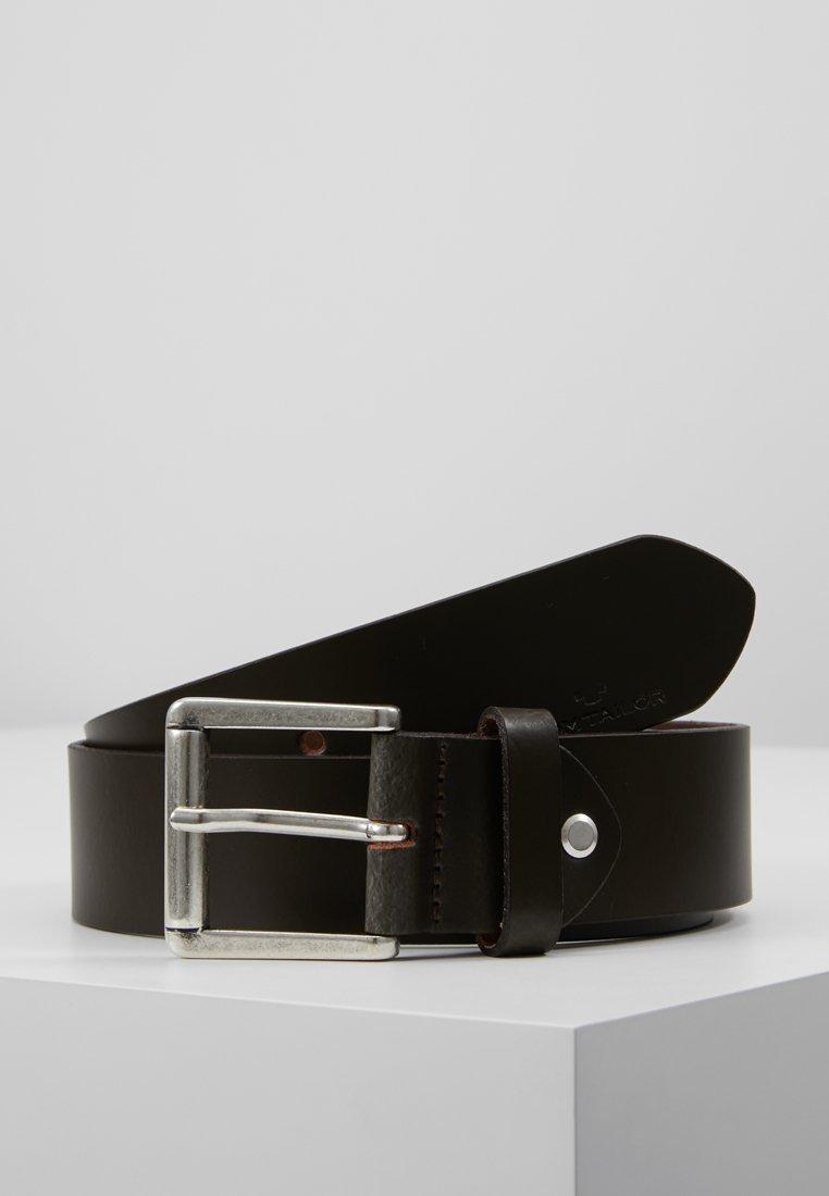 TOM TAILOR - Belt - dark brown