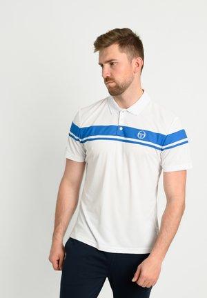 YOUNG LINE - Polo shirt - wht/royal