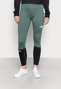 The North Face - TIGHT - Leggings - balsam green/black - 0