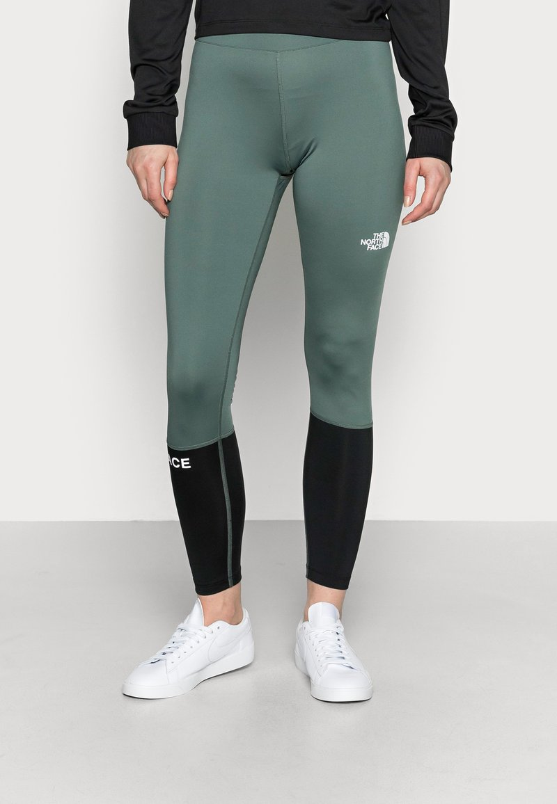 The North Face - TIGHT - Leggings - balsam green/black