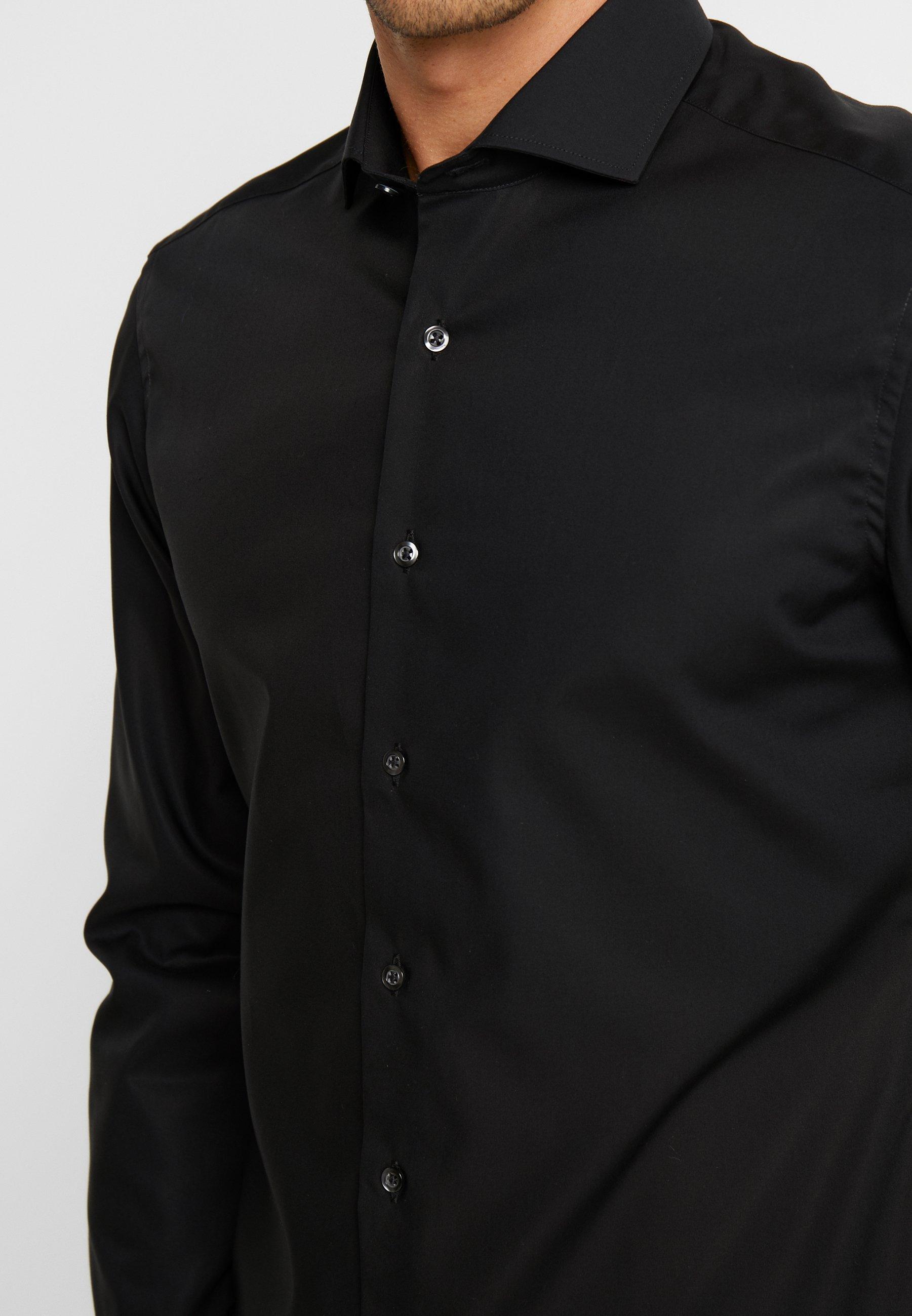 Eterna SLIM FIT - Chemise classique - black