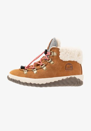 YOUTH OUT N ABOUT CONQUEST UNISEX - Snørestøvletter - camel brown/quarry