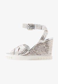 Casadei - High heeled sandals - argento - 1