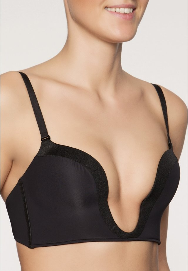 PERFECT DEEP PLUNGE - Strapless BH - schwarz