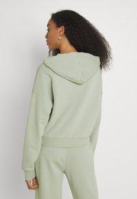 NU-IN - CROPPED HOODIE - Sweatshirt - green - 2