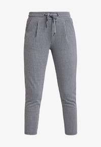ICHI - KATE STRIPY TROUSERS - Trousers - total eclipse - 3