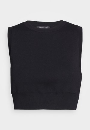 THE CROP - Topper - black