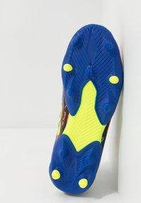 adidas Performance - NEMEZIZ MESSI 19.3 FG - Moulded stud football boots - royal blue/silver metallic/solar yellow - 5