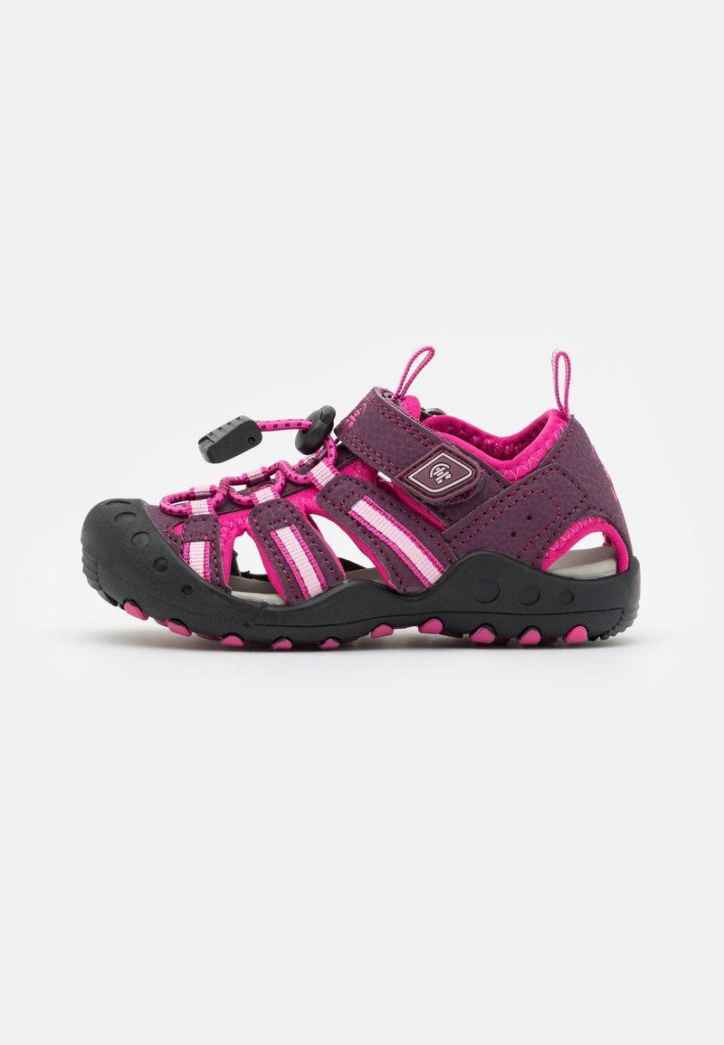 Kamik - CRAB UNISEX - Walking sandals - plum/prune