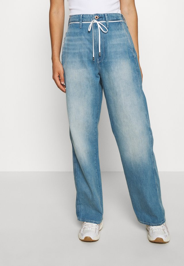 LINTELL HIGH DAD  - Jeans Relaxed Fit - antic faded marine blue