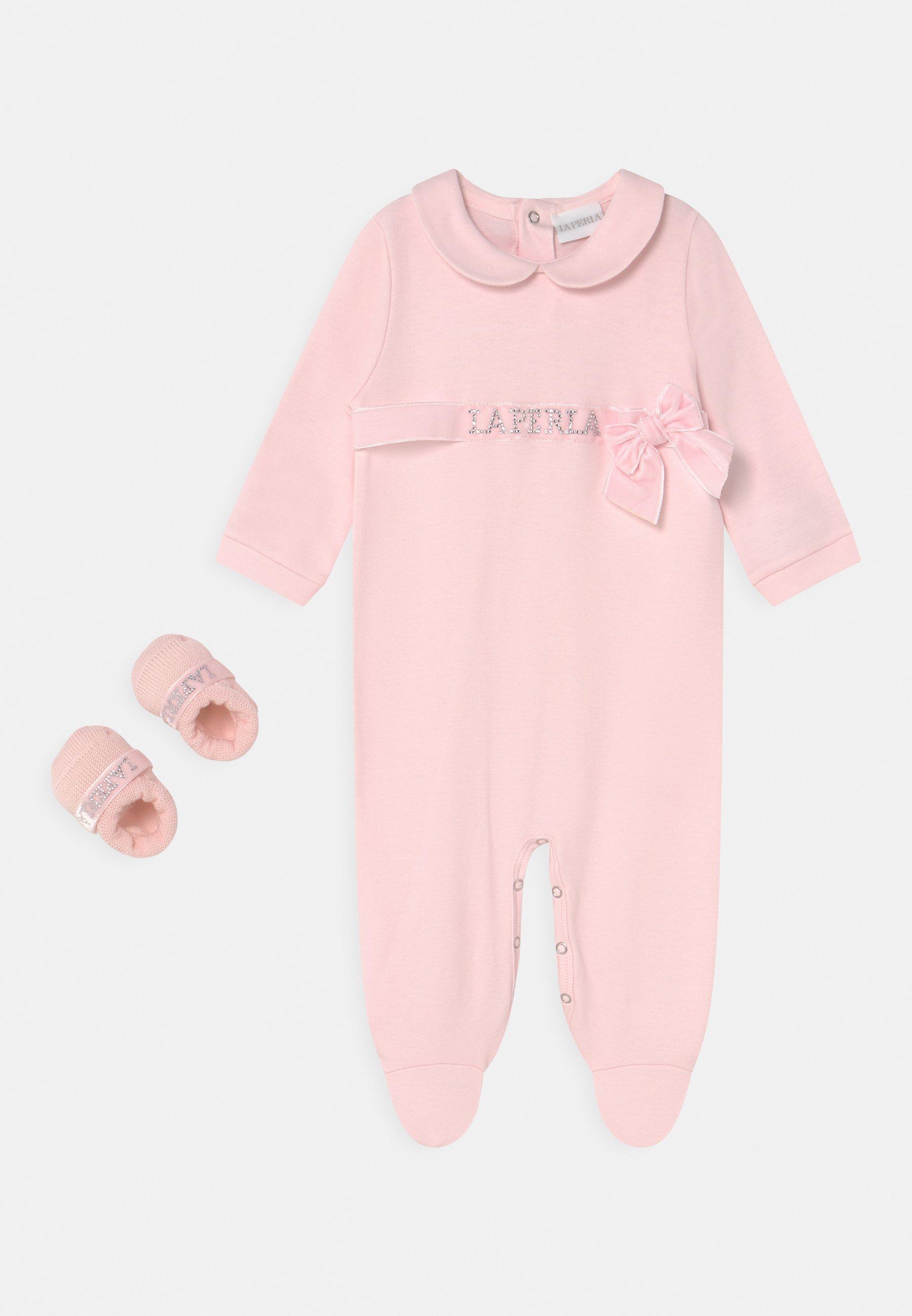 Kids GIFT-BOX CINTURINO LOGATO VELLUTO SET - Sleep suit