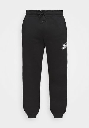 JJIGORDON JJNEWSOFT PANT - Tracksuit bottoms - black