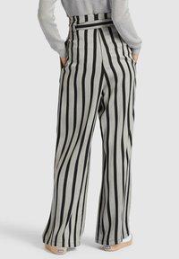 khujo - EIVOLA - Trousers - black grey - 2