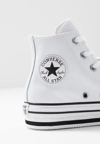 Converse - CHUCK TAYLOR ALL STAR PLATFORM - High-top trainers - white/black - 2