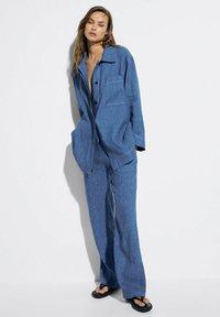 Massimo Dutti - Trousers - blue - 0