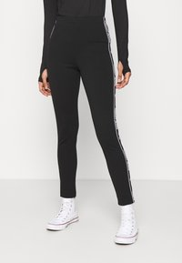Tommy Jeans - ESSENTIAL TAPE - Legging - black - 0