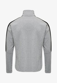Hummel - HMLTROPPER - Zip-up hoodie - grey melange - 1