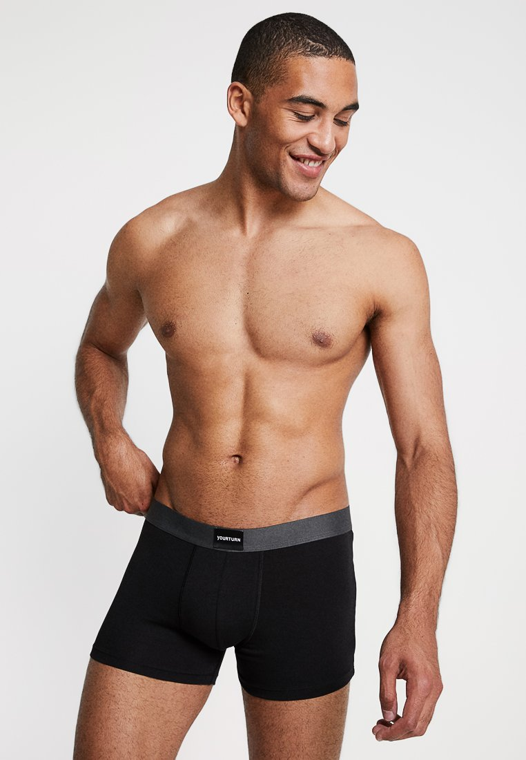 YOURTURN - 5 PACK - Underkläder - black