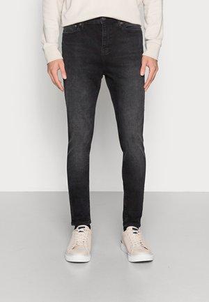 JJIPETE JJORIGINAL - Jeans slim fit - black denim