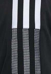 adidas Performance - TIRO WORD  - T-shirts print - black - 2