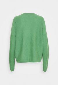 FTC Cashmere - Stickad tröja - asparagus - 1