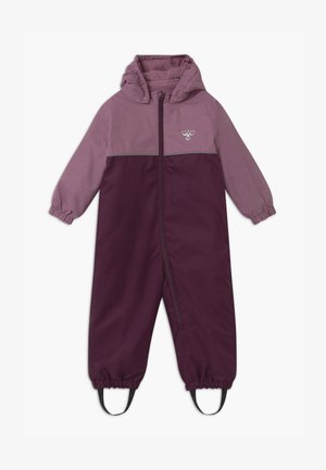 SNOOPY UNISEX - Snowsuit - blackberry wine