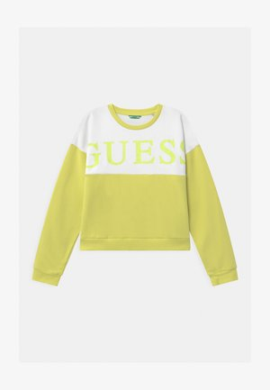 JUNIOR ACTIVE - Sweatshirt - shiny light green