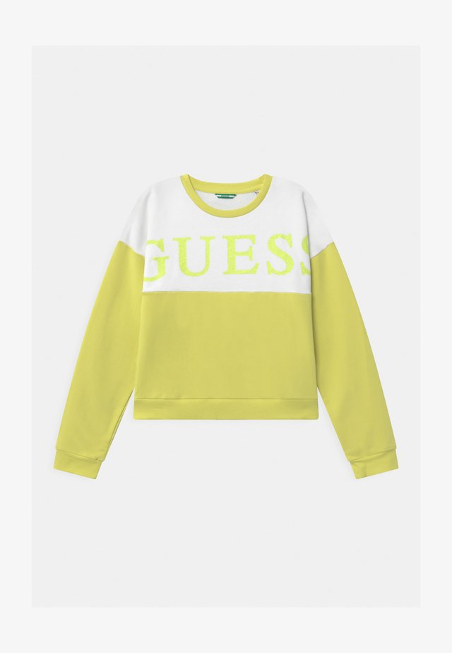 JUNIOR ACTIVE - Sweatshirt - shiny light green